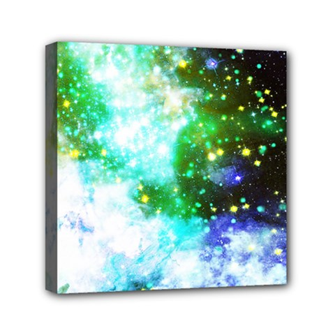 Space Colors Mini Canvas 6  X 6  by ValentinaDesign