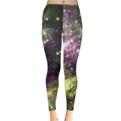 Space Colors Leggings  by ValentinaDesign