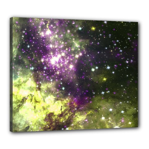 Space Colors Canvas 24  X 20  by ValentinaDesign