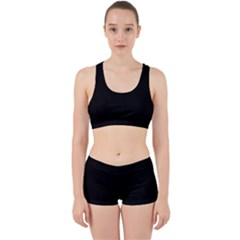Space Colors Work It Out Sports Bra Set