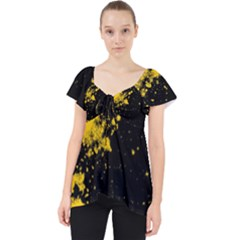 Space Colors Lace Front Dolly Top