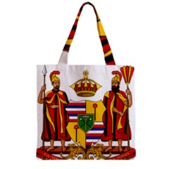 Kingdom Of Hawaii Coat Of Arms, 1795 1850 Grocery Tote Bag by abbeyz71