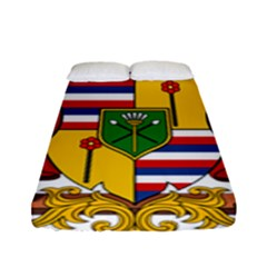 Kingdom Of Hawaii Coat Of Arms, 1795 1850 Fitted Sheet (full/ Double Size) by abbeyz71