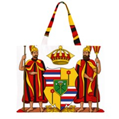 Kingdom Of Hawaii Coat Of Arms, 1795 1850 Zipper Large Tote Bag by abbeyz71