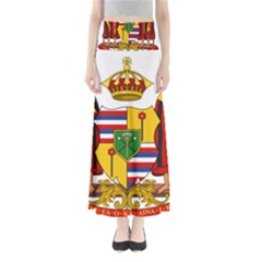Kingdom Of Hawaii Coat Of Arms, 1795 1850 Full Length Maxi Skirt by abbeyz71