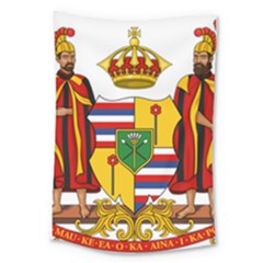 Kingdom Of Hawaii Coat Of Arms, 1795 1850 Large Tapestry by abbeyz71