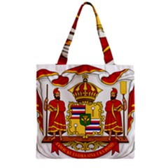 Kingdom Of Hawaii Coat Of Arms, 1850 1893 Grocery Tote Bag by abbeyz71