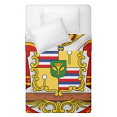 Kingdom Of Hawaii Coat Of Arms, 1850 1893 Duvet Cover Double Side (single Size) by abbeyz71