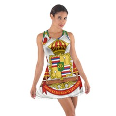 Kingdom Of Hawaii Coat Of Arms, 1850 1893 Cotton Racerback Dress by abbeyz71