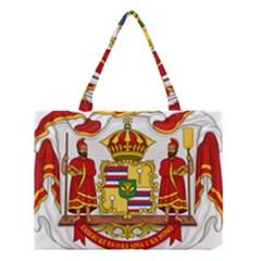 Kingdom Of Hawaii Coat Of Arms, 1850 1893 Medium Tote Bag by abbeyz71