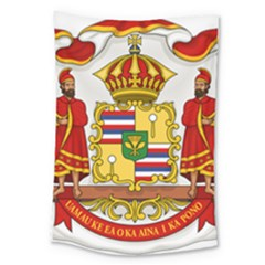 Kingdom Of Hawaii Coat Of Arms, 1850 1893 Large Tapestry by abbeyz71