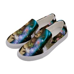 The Wonderful Women Of Earth Women s Canvas Slip Ons by FantasyWorld7