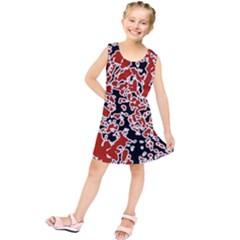 Splatter Abstract Texture Kids  Tunic Dress by dflcprints