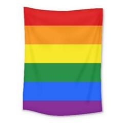Pride Flag Medium Tapestry by Valentinaart