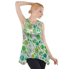 Lovely Shapes 2b Side Drop Tank Tunic by MoreColorsinLife