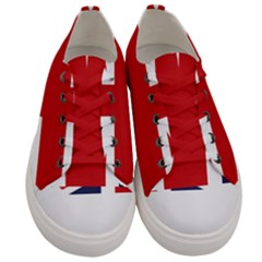 Uk Flag United Kingdom Women s Low Top Canvas Sneakers