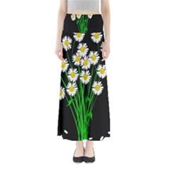 Bouquet Geese Flower Plant Blossom Full Length Maxi Skirt by Nexatart