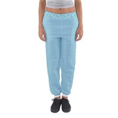 Blue Pattern Background Texture Women s Jogger Sweatpants by Nexatart