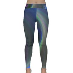 Gloom Background Abstract Dim Classic Yoga Leggings by Nexatart