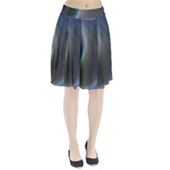 Gloom Background Abstract Dim Pleated Skirt by Nexatart