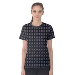 Kaleidoscope Seamless Pattern Women s Cotton Tee