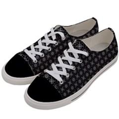 Kaleidoscope Seamless Pattern Women s Low Top Canvas Sneakers by Nexatart