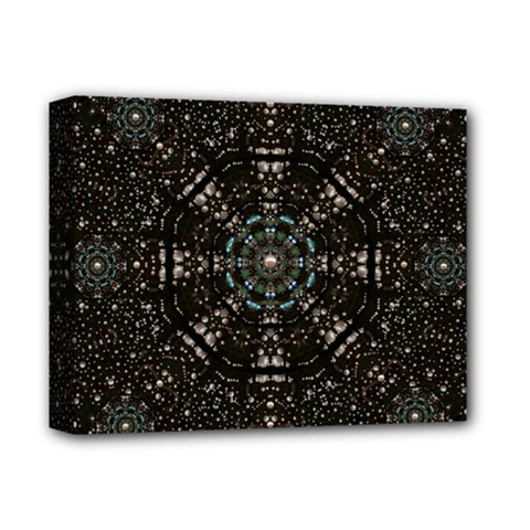 Pearl Stars On A Wonderful Sky Of Star Constellations Deluxe Canvas 14  X 11  by pepitasart