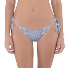 Flower Lace In Decorative Style Reversible Bikini Bottom by pepitasart