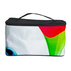 Colourful Art Face Cosmetic Storage Case by MaryIllustrations