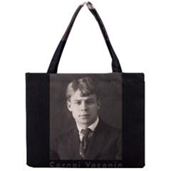 Sergei Yesenin Mini Tote Bag by Valentinaart