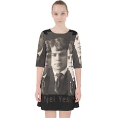 Sergei Yesenin Pocket Dress