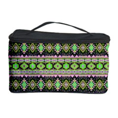 Fancy Tribal Border Pattern 17a Cosmetic Storage Case by MoreColorsinLife