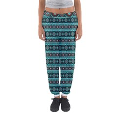 Fancy Tribal Border Pattern 17g Women s Jogger Sweatpants by MoreColorsinLife