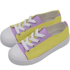 Apo Stripes Kids  Low Top Canvas Sneakers by AllOverIt