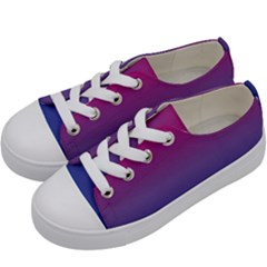 Bi Rainbow Kids  Low Top Canvas Sneakers by AllOverIt