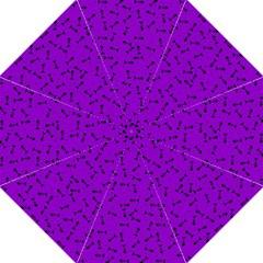 Fish Bones Pattern Straight Umbrellas by ValentinaDesign