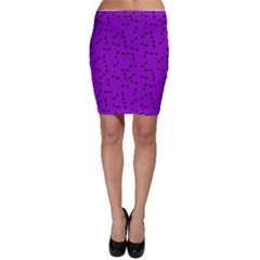 Fish Bones Pattern Bodycon Skirt by ValentinaDesign