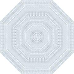 Aztec Influence Pattern Straight Umbrellas by ValentinaDesign