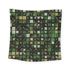 Small Geo Fun C Square Tapestry (small) by MoreColorsinLife