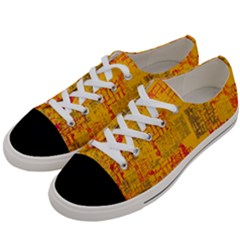 Abstract Art Women s Low Top Canvas Sneakers by ValentinaDesign