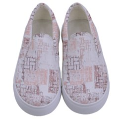 Abstract Art Kids  Canvas Slip Ons