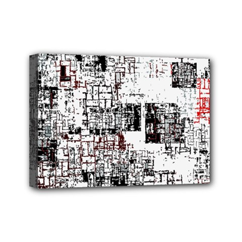Abstract Art Mini Canvas 7  X 5  by ValentinaDesign