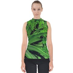 Vivid Tropical Design Shell Top by dflcprints