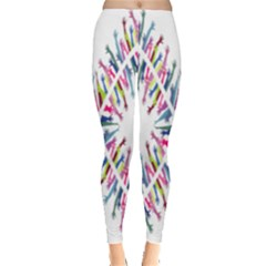 Free Symbol Hands Leggings  by Mariart