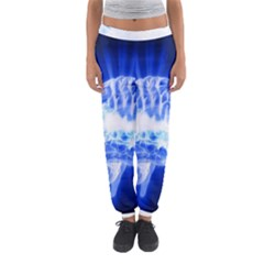 Lightning Brain Blue Women s Jogger Sweatpants by Mariart