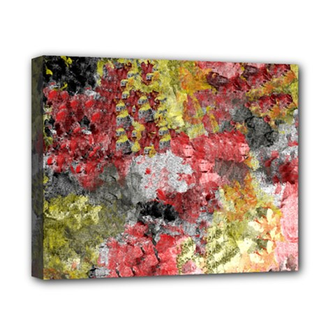 Garden Abstract Canvas 10  X 8  by theunrulyartist