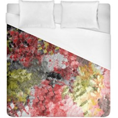 Garden Abstract Duvet Cover (king Size) by theunrulyartist