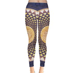 Sahasrara Blue Leggings  by Mariart