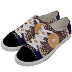 Sahasrara Blue Women s Low Top Canvas Sneakers by Mariart