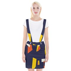Slider Explore Further Braces Suspender Skirt